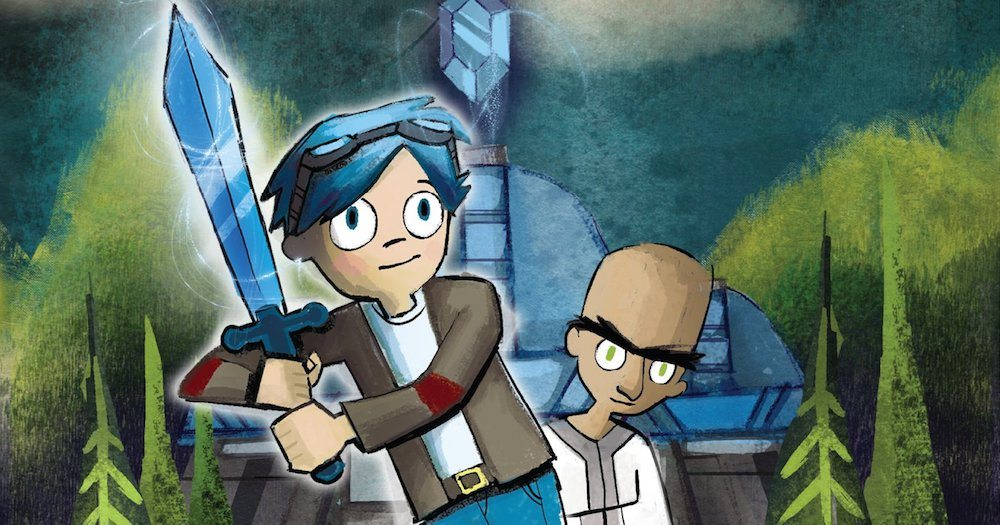 Take 'Minecraft' to the Next (Reading) Level With DanTDM's New Graphic Novel