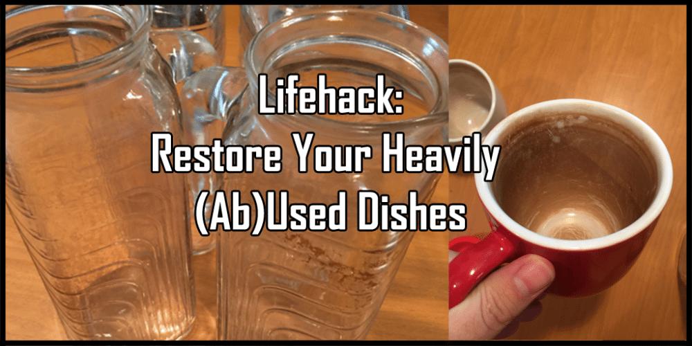 The Perfect Recipe for Saving (Ab)Used Dishes (Sponsored)