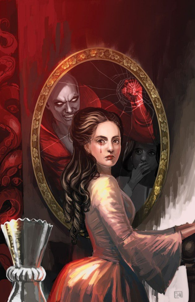 Cover to Deadman: Dark Mansion of Forbidden Love #2