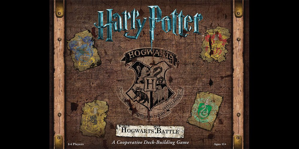 Cooperative Deck-Building in 'Harry Potter: Hogwarts Battle'