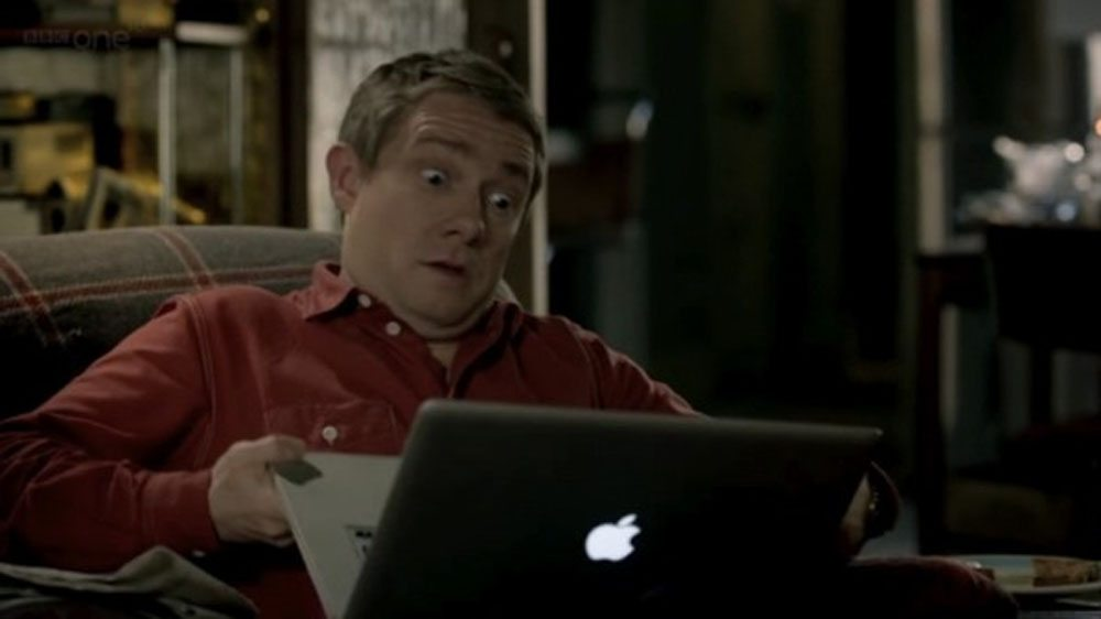 John Watson is Exasperated
