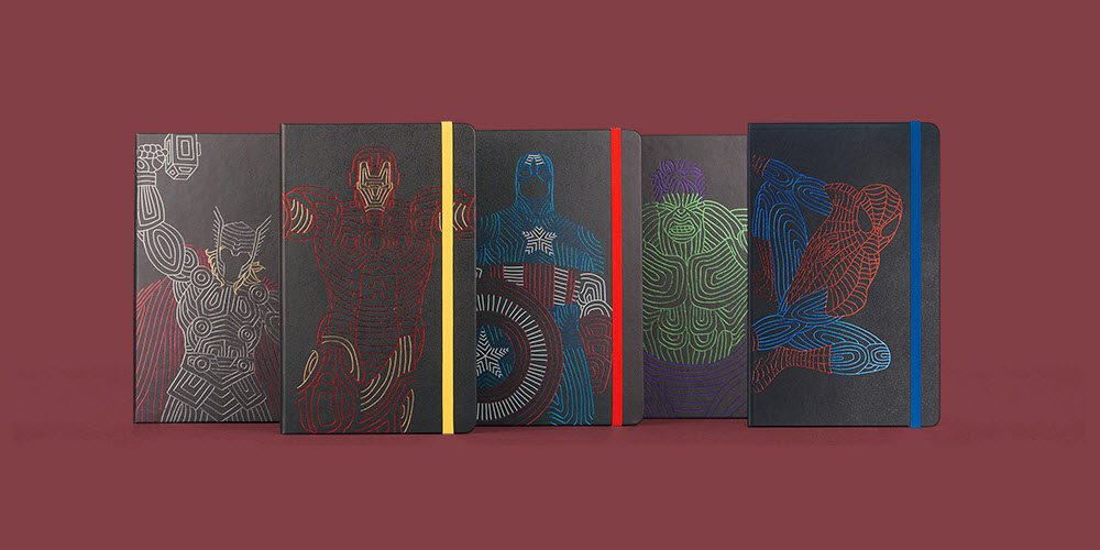 Moleskine, Assemble! Moleskine Releases Limited Edition Marvel Avengers Notebooks
