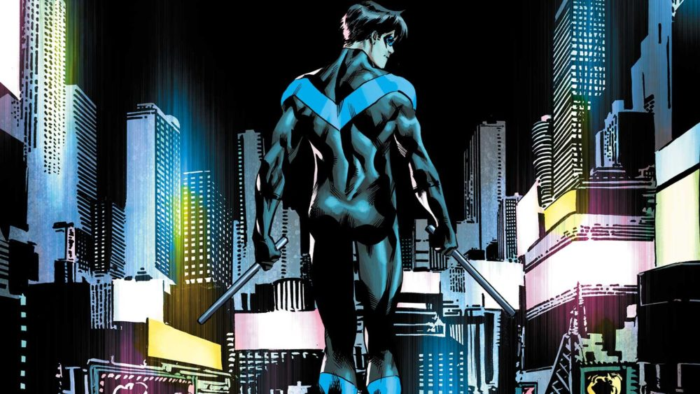 Dick Grayson Nightwing's butt