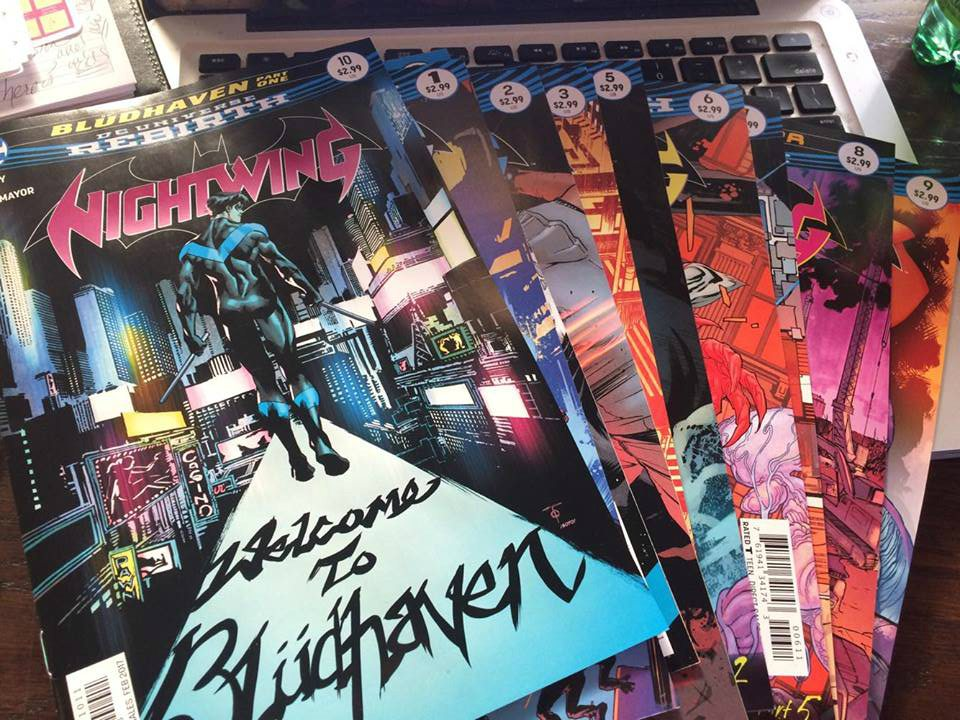 Nightwing Rebirth Bludhaven