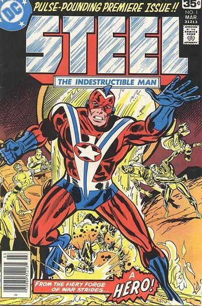 The original Steel series, from 1978. copyright DC Comics