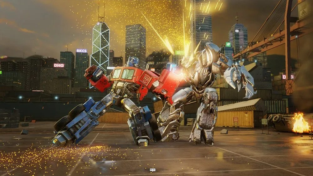 I am going to use G1 bots to beat up on Bayformers. All. Day. Long. (Image Credit: Kabam)