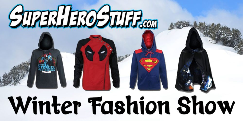 Winter Fashion With the SuperHeroStuff.Com Online Fashion Show