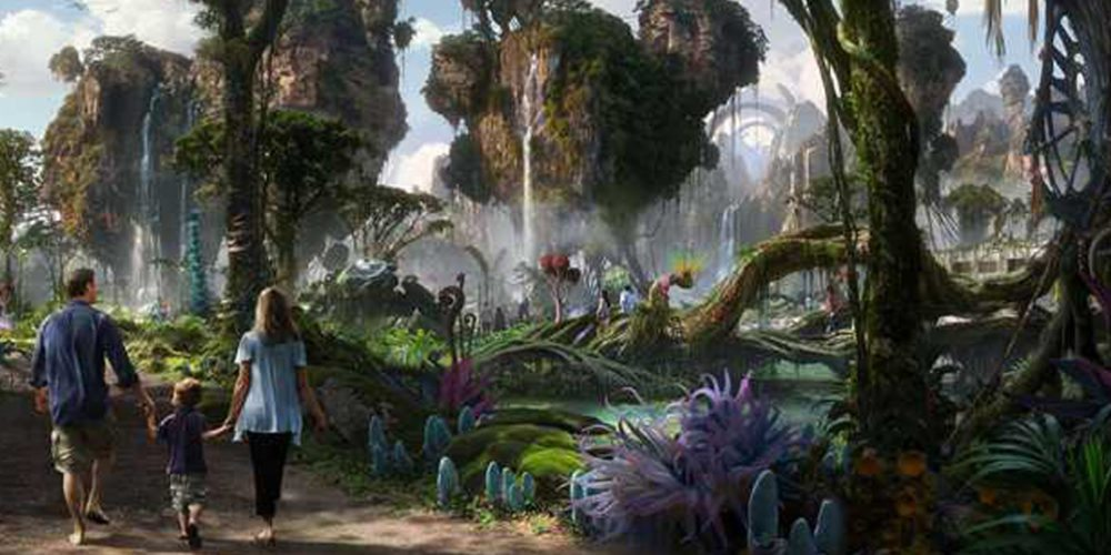 Take a Behind the Scenes Trip to Pandora: The World of Avatar