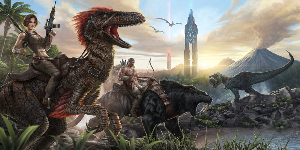 'ARK: Survival Evolved' for PS4 and Xbox One