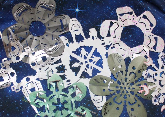 Anthony Herrera Designs, Matters of Grey, and even Wikihow added to this year's Star Wars fun. Herrera's new designs include Rogue One patterns. Image: Lisa Kay Tate