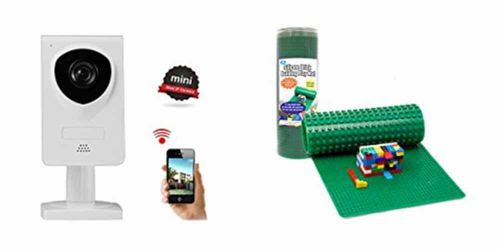 Save Big on a Wireless IP Camera or a Roll-up Silicon LEGO Building Mat – Daily Deals!