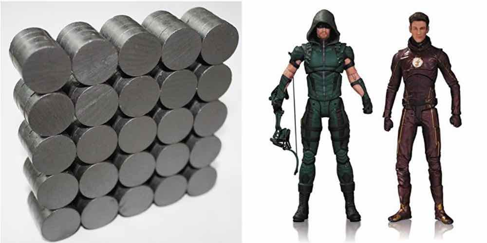 Save Big on 100 Ceramic Magnets, DC TV Action Figures – Daily Deals!