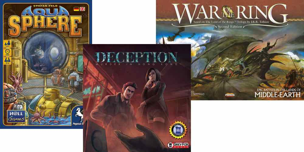 Top 3 Board Game Deals for January 2017
