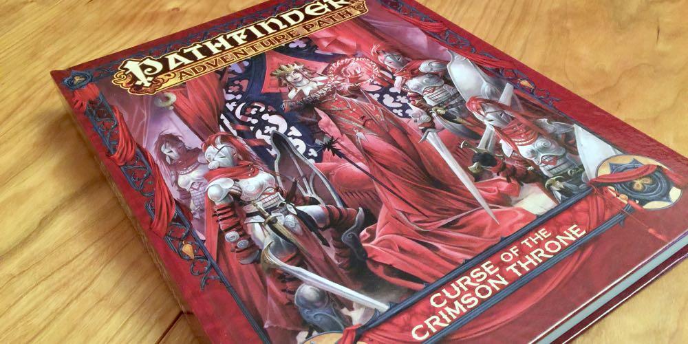 Curse of the Crimson Throne Hardcover