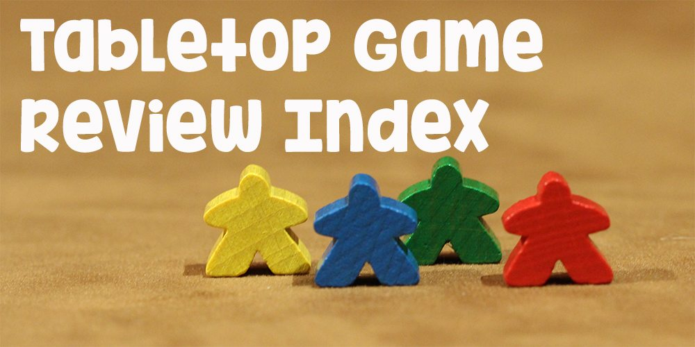 Announcing the GeekDad Tabletop Game Review Index