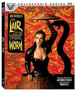 'The Lair of the White Worm' Blu Ray