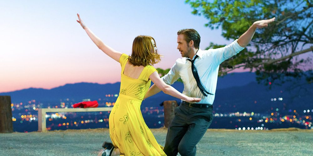 Ryan Gosling and Emma Stone in 'La La Land.'