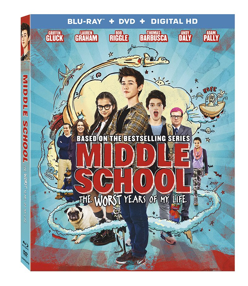 Middle School: The Worst Years of My Life Blu Ray DVD Combo