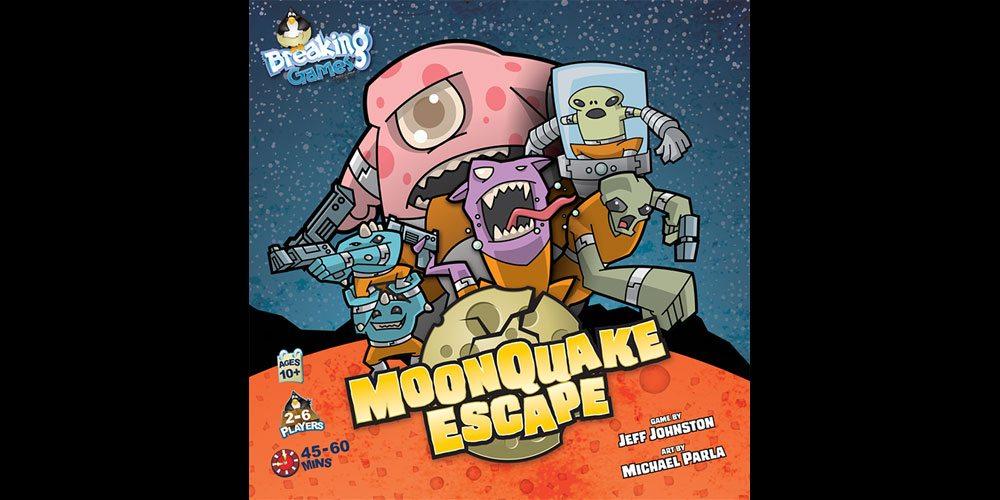 Disaster + Prison Break + Aliens = 'MoonQuake Escape'