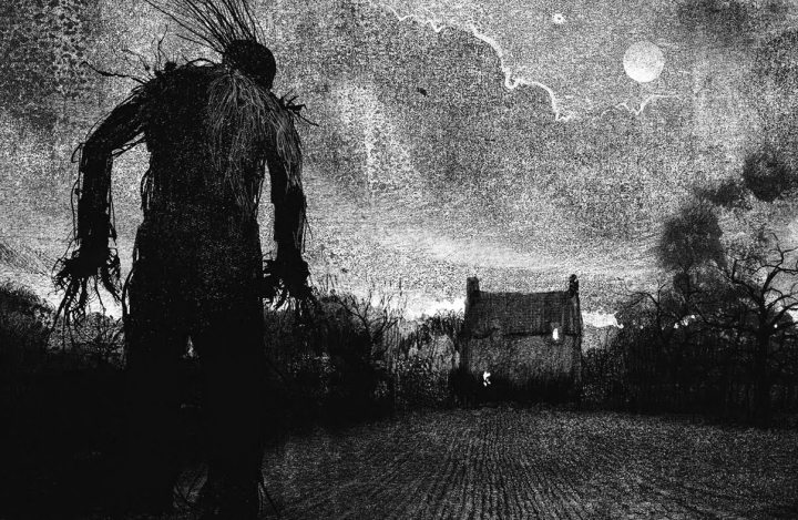 Monster Calls Art Work