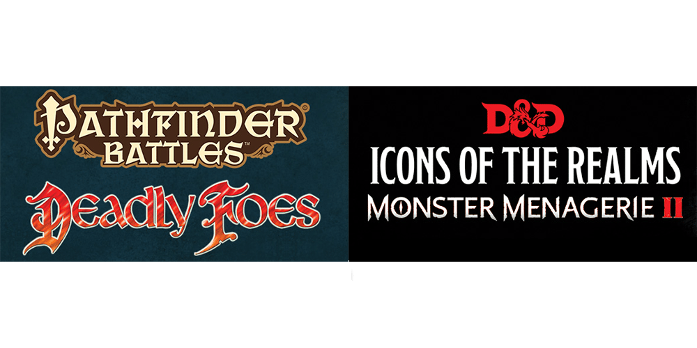 Mini Mayhem: 'Pathfinder Battles: Deadly Foes' vs. 'D&D Icons of the Realms: Monster Menagerie II'