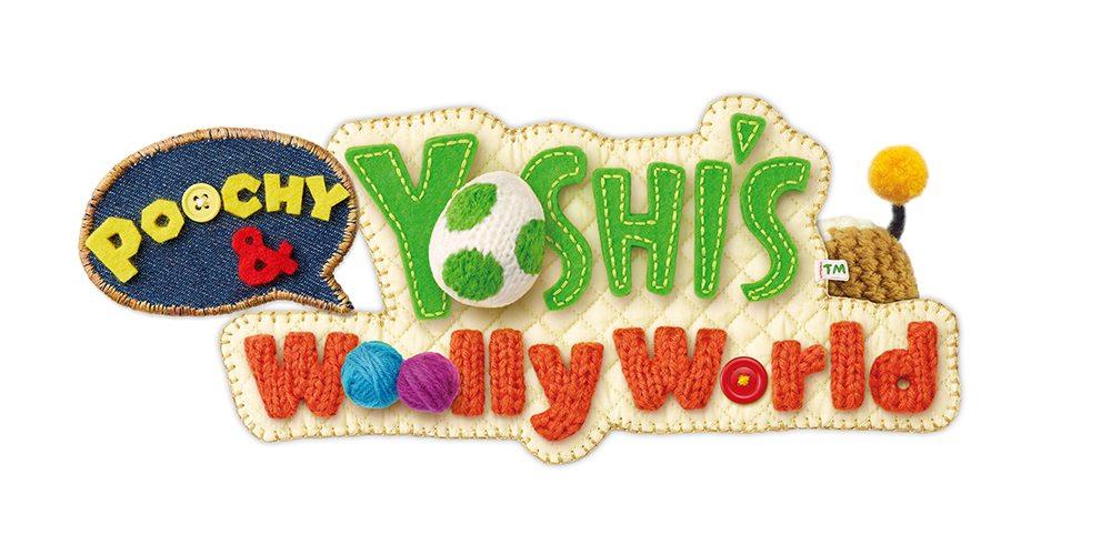 Poochy & Yoshi's Wooly World logo