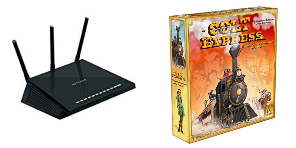 Save 40% off Networking and Storage, Get a Great Family Train Robbery Game – Daily Deals