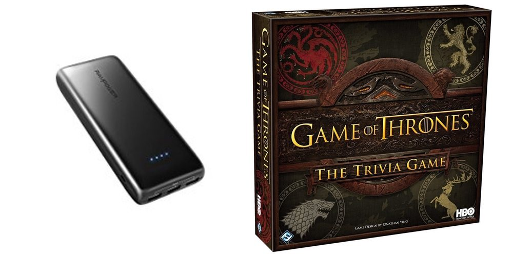 Get a 22,000mAh Portable Charger for $30, Play Some 'Game of Thrones' Trivia – Daily Deals!