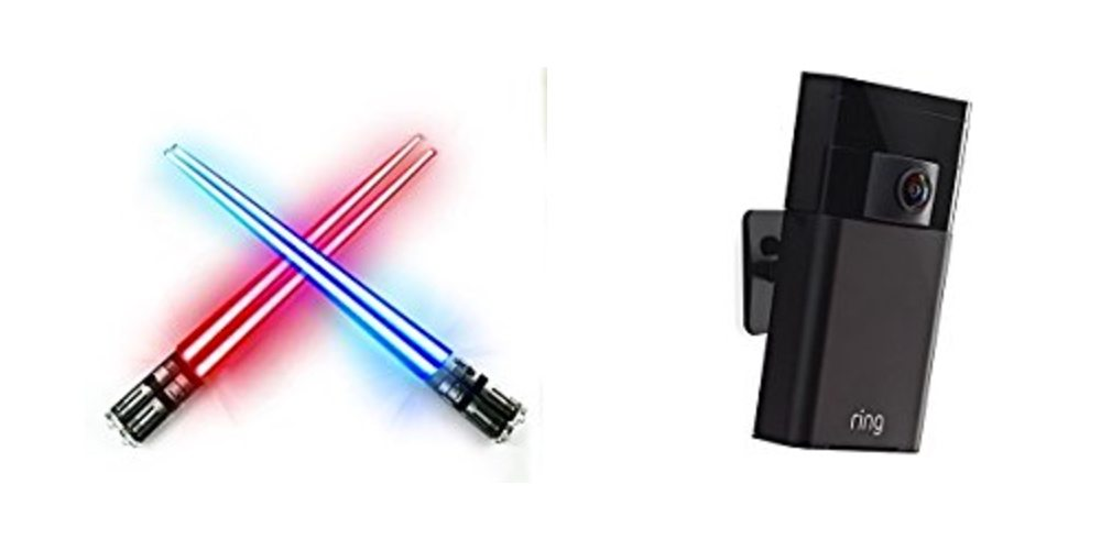 Save Big on LED Chop Sabers (Exactly What You Think), $30 Off the Ring Stick-up Cam – Daily Deals!