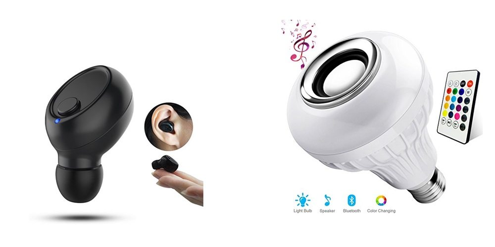 Get a Bluetooth Earpiece Like Uhura, Play Both Light and Sound From Your Lamps – Daily Deals!
