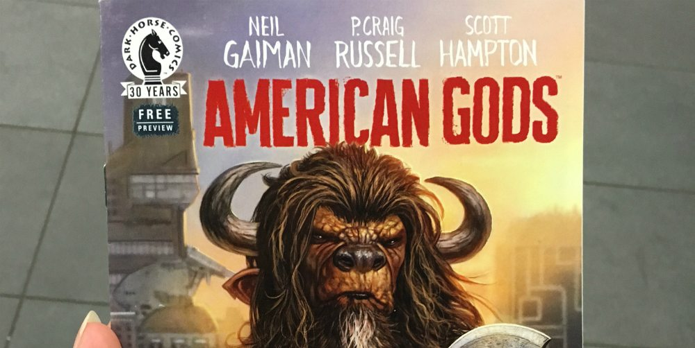 'American Gods' Graphic Novel (Preview)