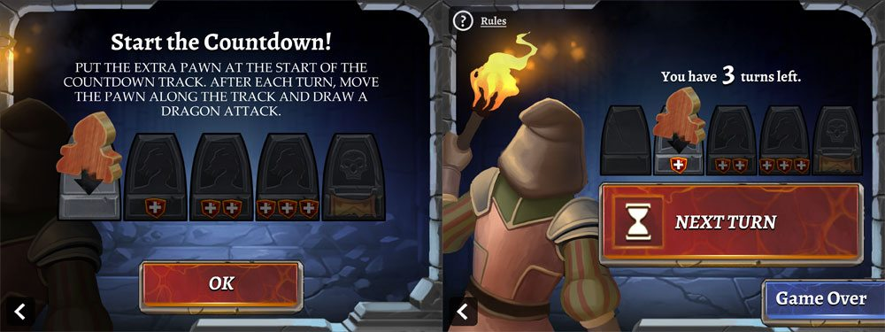Clank solo app countdown
