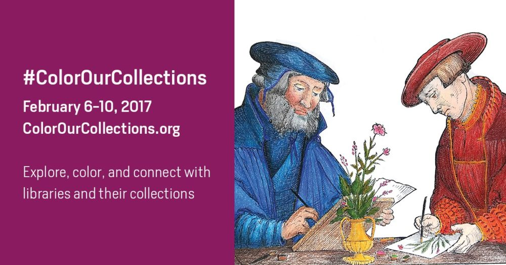 #ColorOurCollections: Get Free Coloring Pages From Libraries, Archives, and Museums