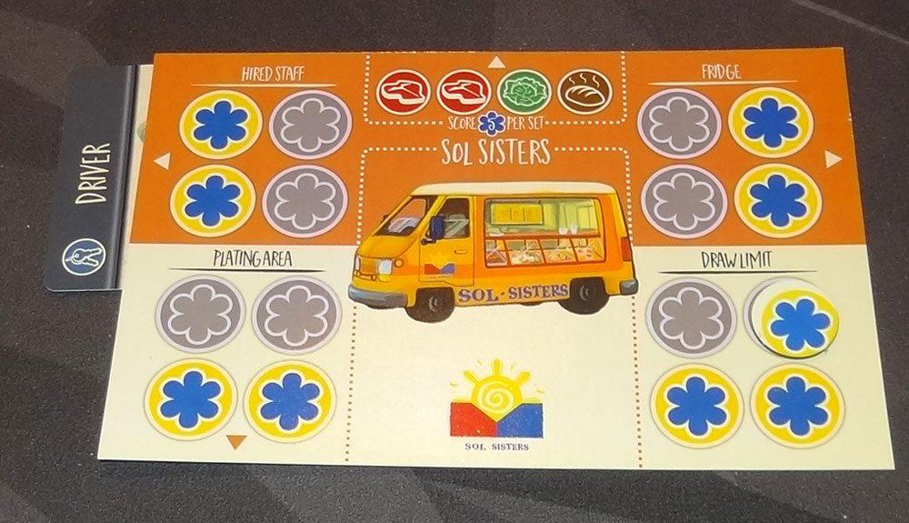Food Truck Champion truck card