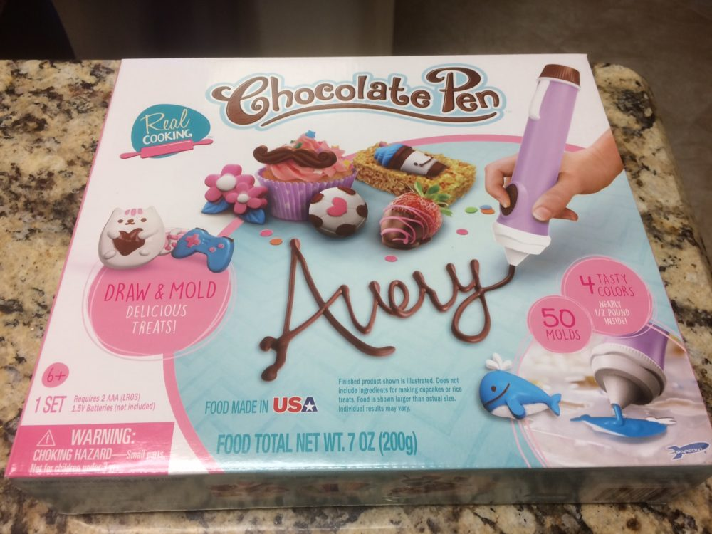 GeekDad Review: Real Cooking Chocolate Pen Kit