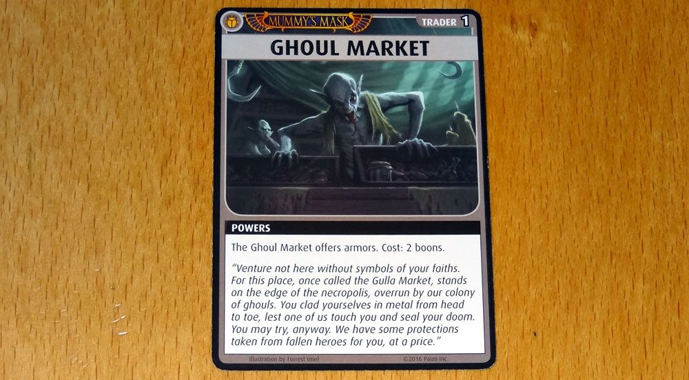 PACG Mummy's Mask Ghoul Market