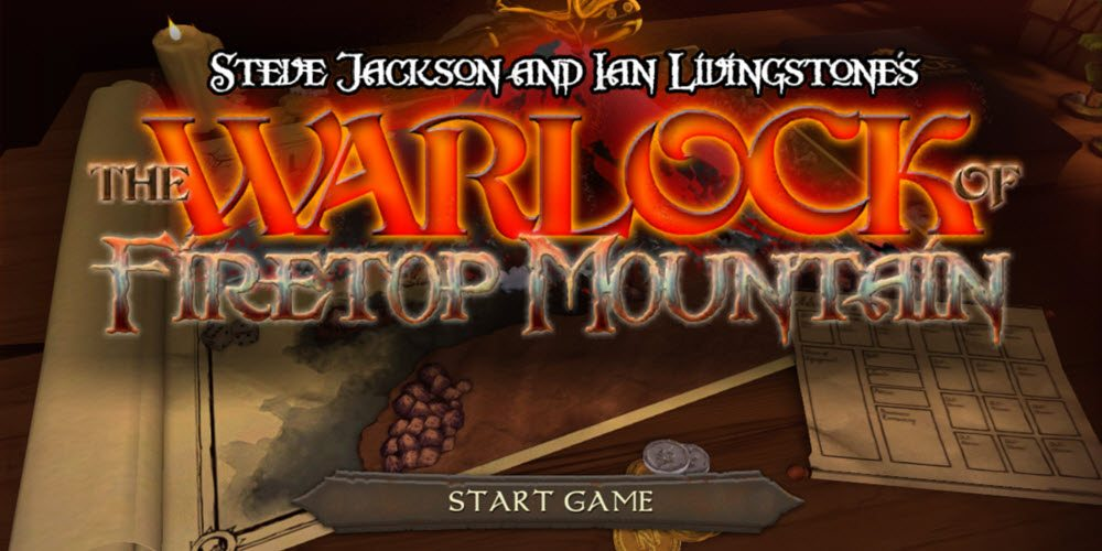'Warlock of Firetop Mountain' Now Available on iOS