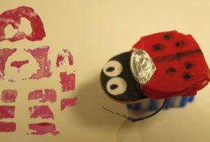 Tinker Birthday Party: Making a Bristlebot