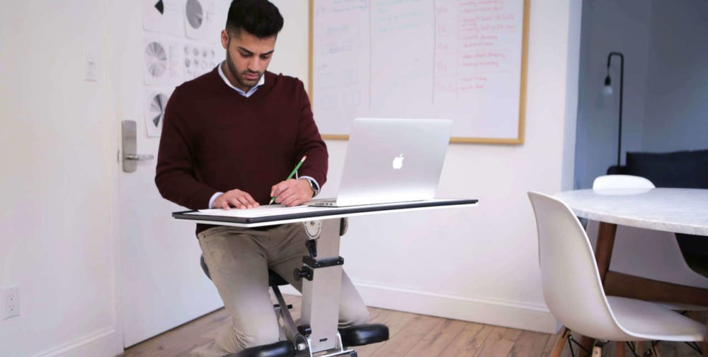 This Portable Desk Will Have You on the Seat of Your Edge