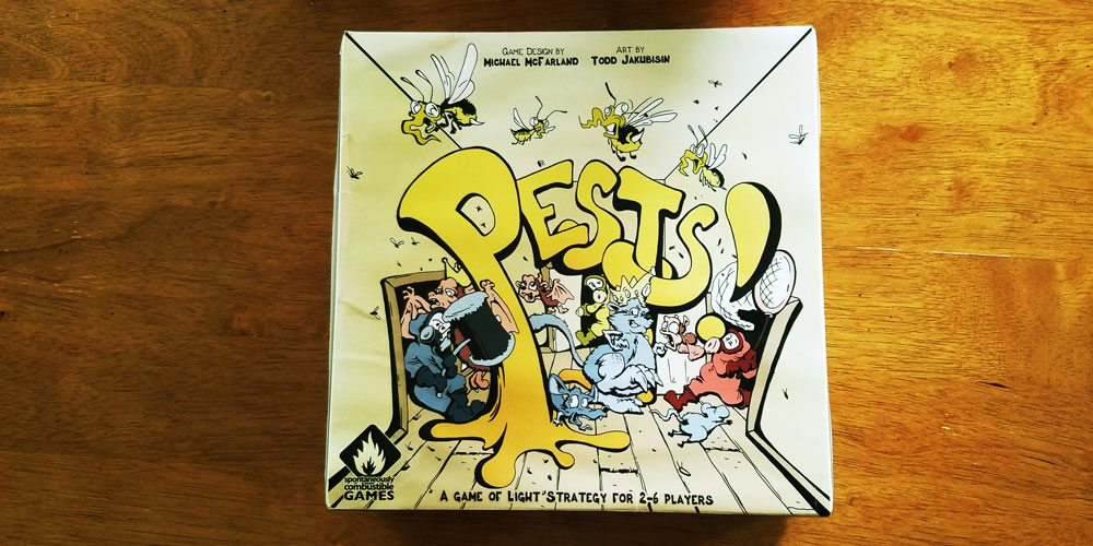 Tabletop Kickstarter Alert: 'Pests!'