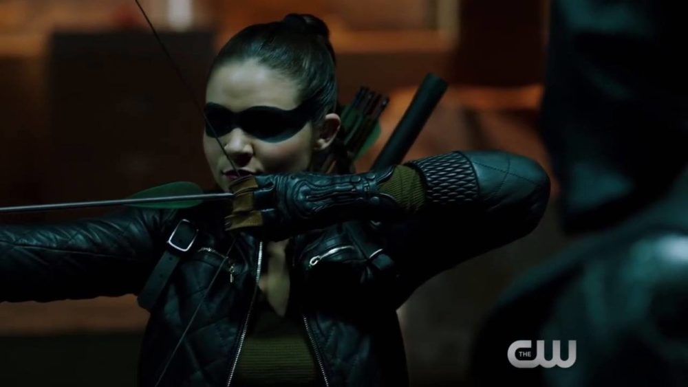 """Madison McLaughlin as Artemis in the 'Arrow' episode """"What We Leave Behind."""""""