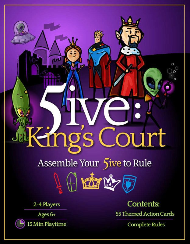 5ive: King's Court cover