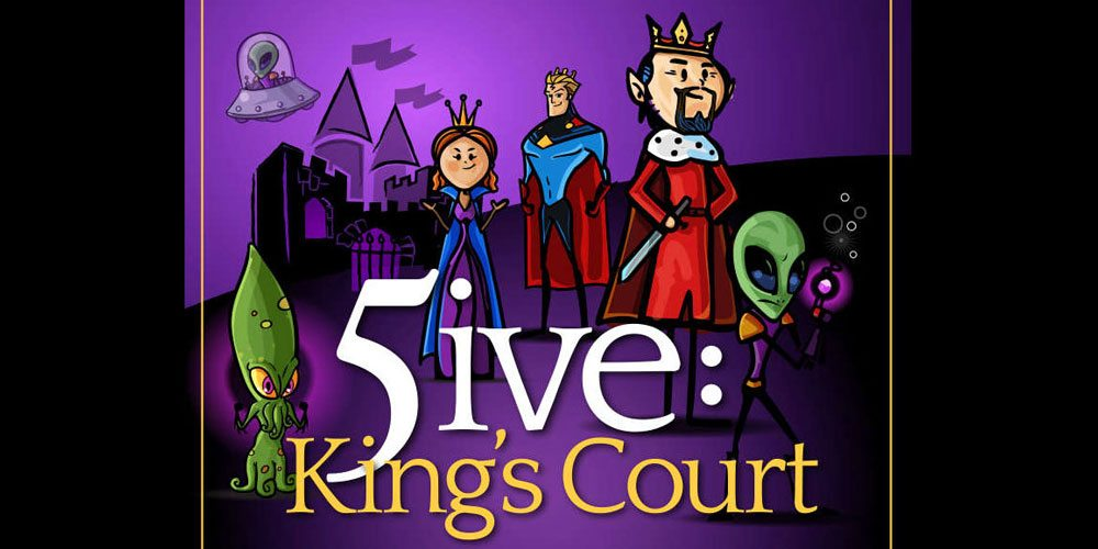 Kickstarter Tabletop Alert: '5ive: King's Court'