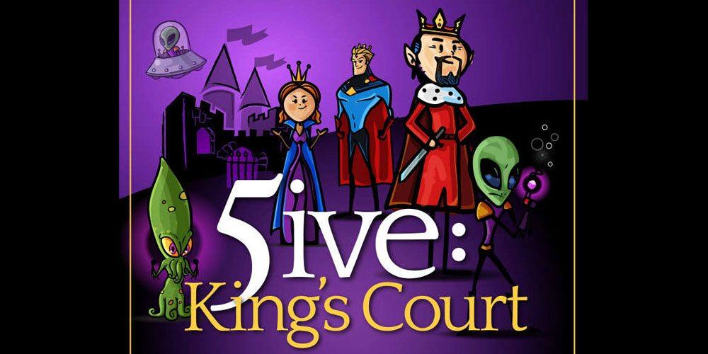 Kickstarter Tabletop Alert: '5ive: King's Court'