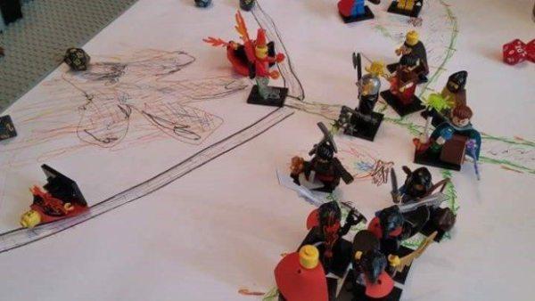D&D LEGO cultists