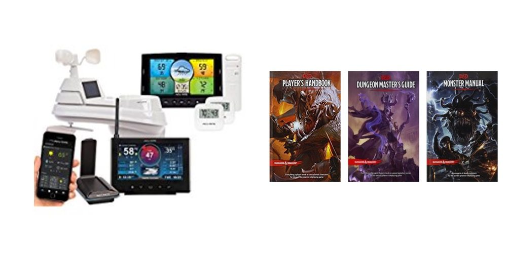 Save on AcuRite Weather Stations, Get All Your D&D Books On Sale – Check Out the Daily Deals!