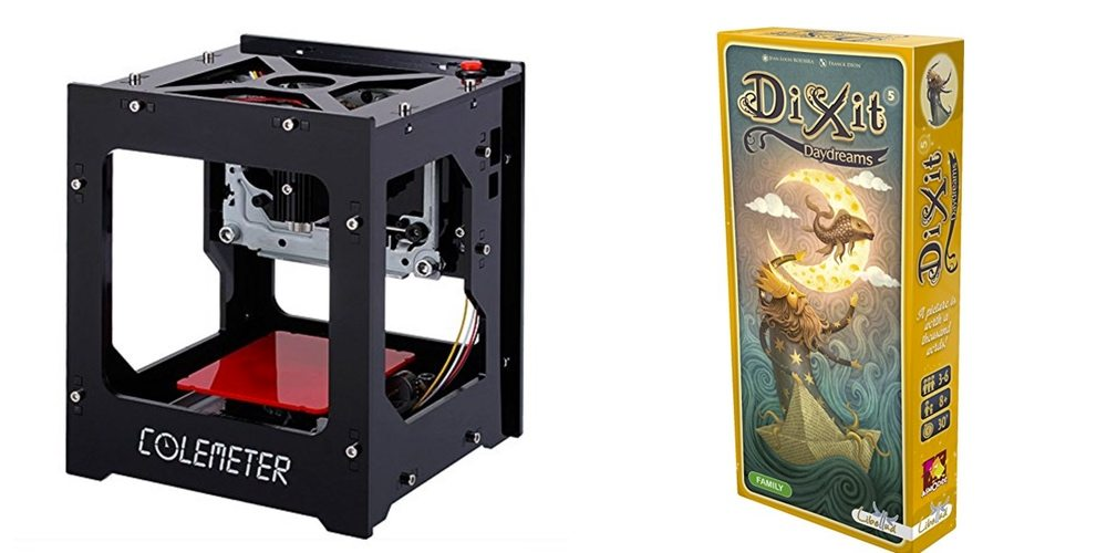 Get a Computer Controlled Laser Engraver for $100; Play the Beautiful 'Dixit Daydreams' – Daily Deals!
