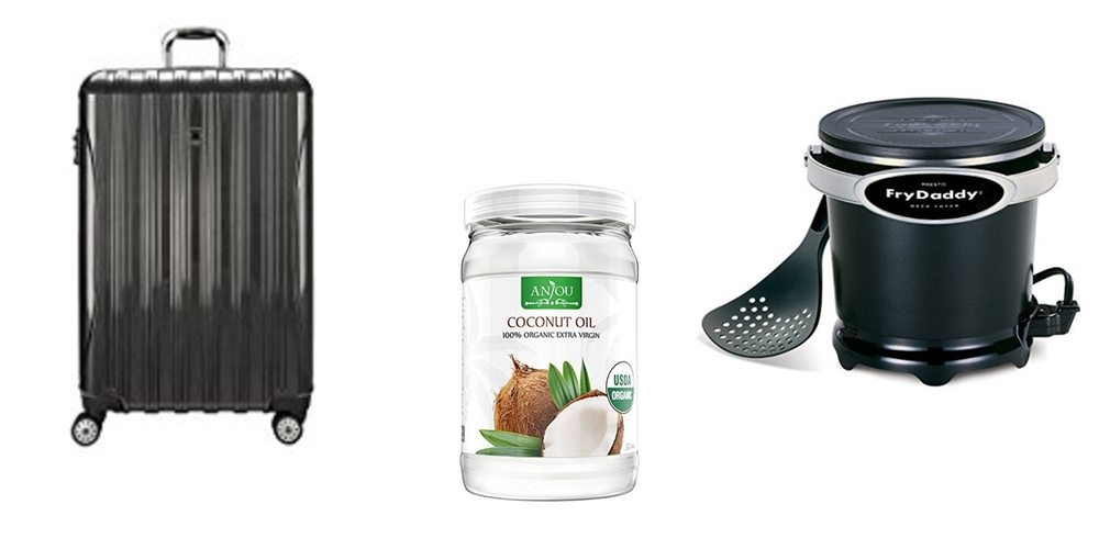 Big Luggage Sale (Up to 60% Off); Up Your Foodie Cred With Coconut Oil and the FryDaddy – Daily Deals!