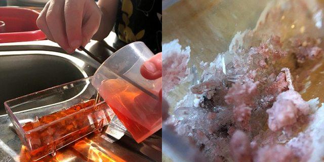 Crystal Making, Image: Sophie Brown
