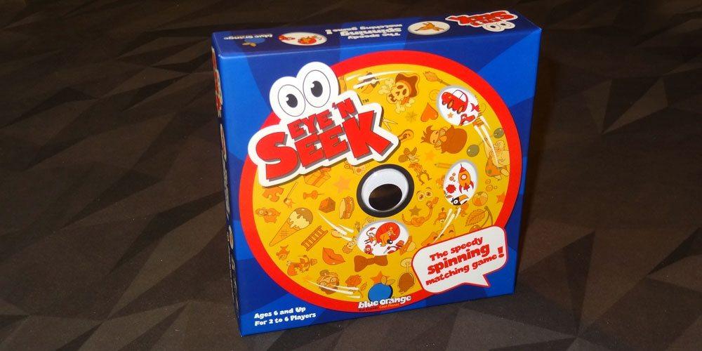 Eye 'N Seek box